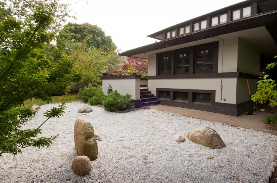 Exterior zen garden growing up in a frank lloyd wright for House designs zen type
