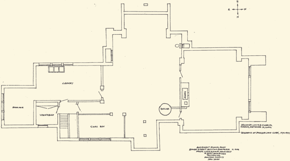 Frank lloyd wright house plans book curtis and lillian Frank lloyd wright house floor plans
