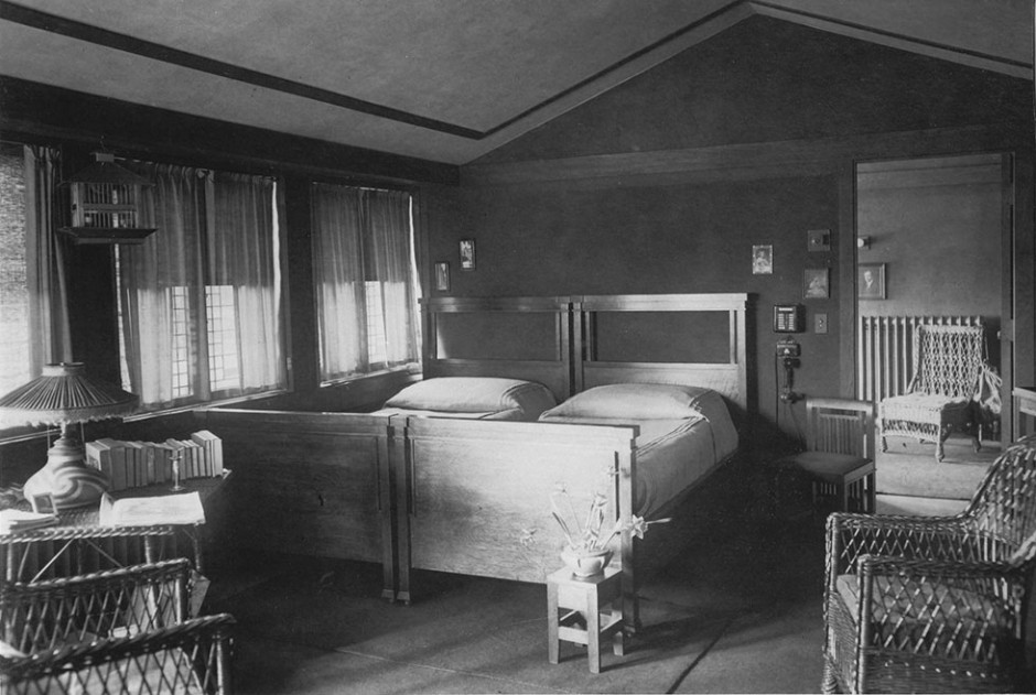 1918 Beulah Bedroom Growing Up In A Frank Lloyd Wright