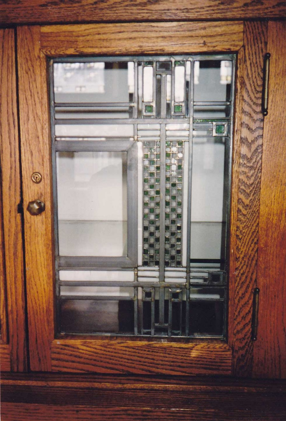Glass Cabinet Growing Up In A Frank Lloyd Wright House